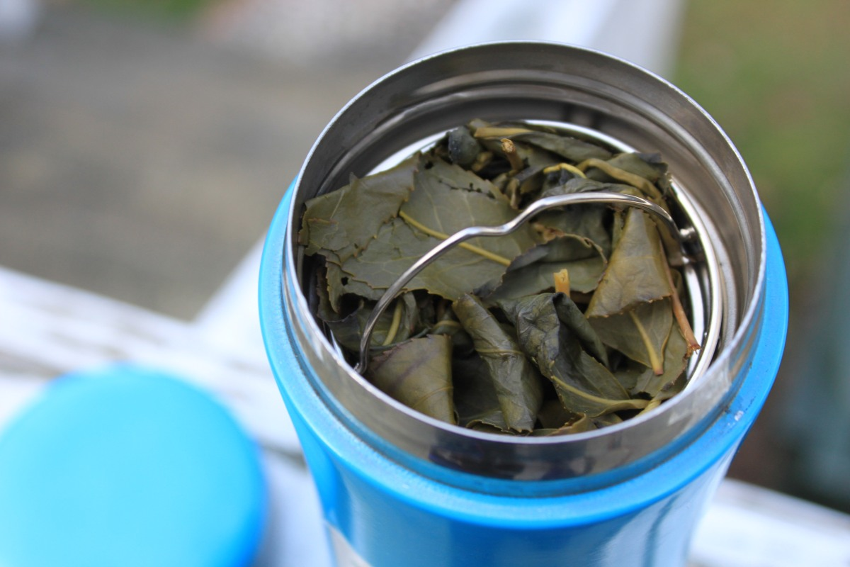 Reviewing The Tea Steeping Tumbler with Tea Infuser