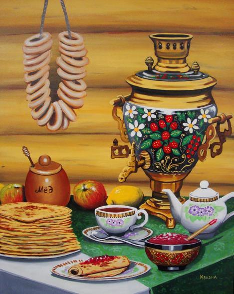 Russian Tea time with the Samovar