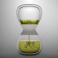 Would you buy this hourglass shaped tea steeper ?