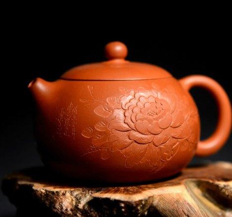 Mu dan xi shi teapot