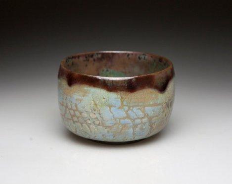 Raku Tea bowl, handmade.