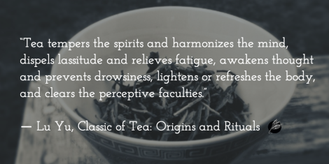 Lu Yu Classic of Tea, quote