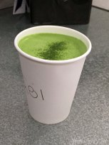 Matcha Latte from Cafe Wabi